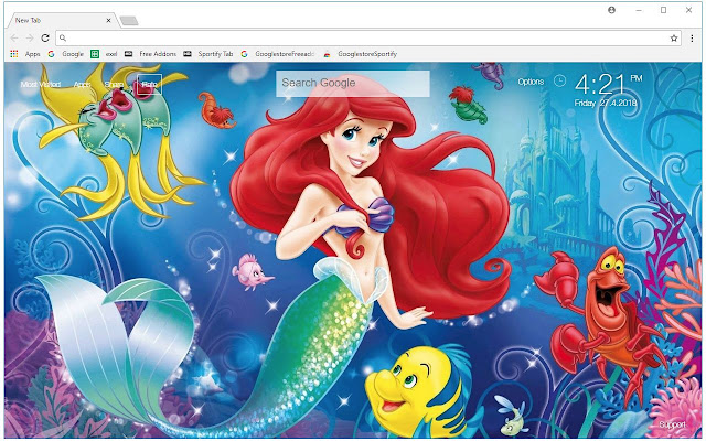 mermaid live wallpaper free