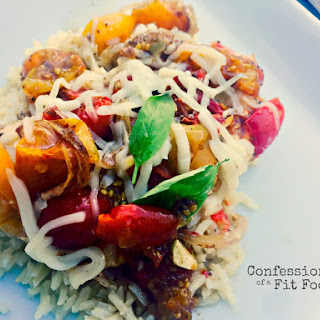 21 Day Fix Crock Pot Caprese Chicken