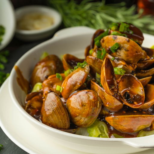 Clam with Black Bean Sauce