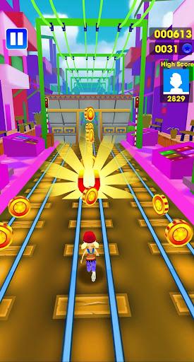 Subway Track - Endless Surf Run  captures d'écran 1