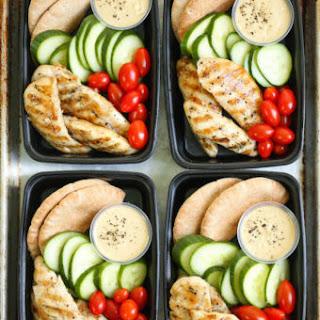 Copycat Starbucks Chicken and Hummus Bistro Box.
