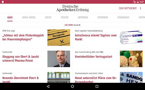 Deutsche Apotheker Zeitung screenshot 8