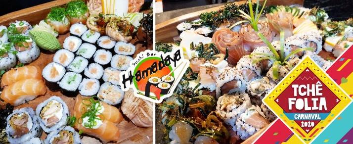 Oferta Hamadaya Sushi na Cidade Baixa
