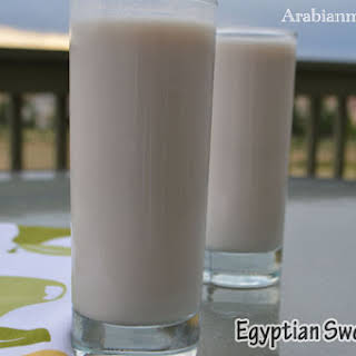 Egyptian Sweet Sobia drink.