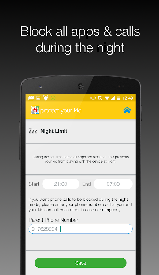 Protect Kid Parental Control- screenshot