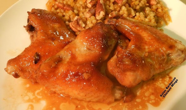 Asian Barbecue Chicken Wings Recipe