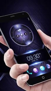 Analog Clock on Lockscreen - náhled