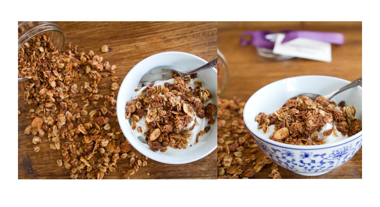 Coconut Cinnamon Granola | Naturally Ella