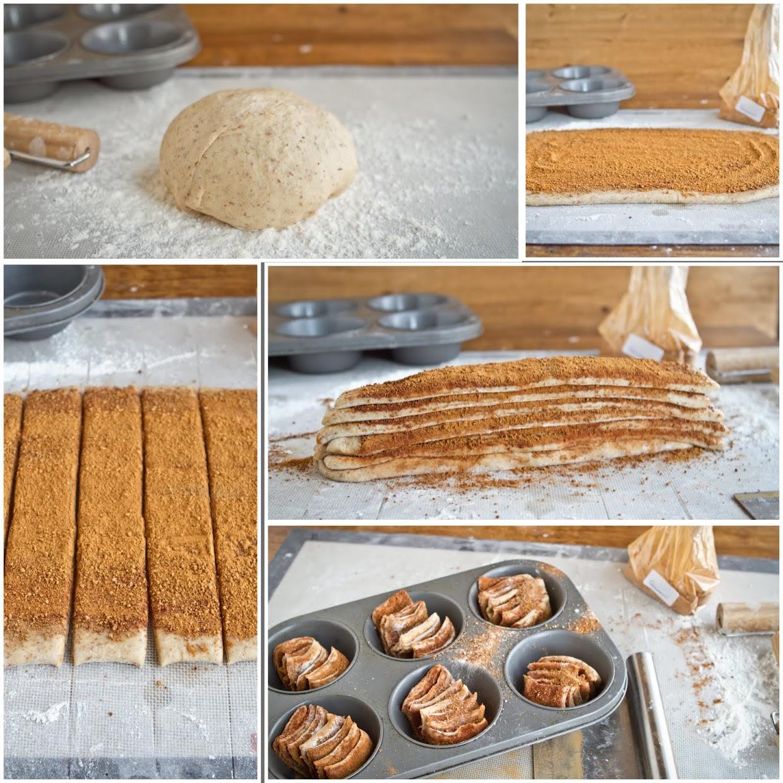 Cinnamon Pull Aparts: Cinnamon Pull-Apart Fantails