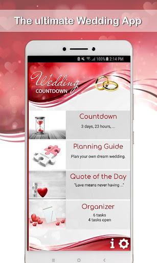 Wedding Countdown App 2019 / 2020 screenshots 1