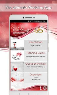 Wedding Countdown App - náhled