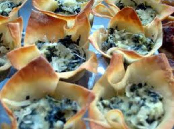 My Ricotta Cheese & Spinach Cups