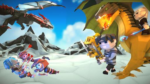 Ultimate Thrones Battle: Epic Dragon Warrior Game  captures d'écran 1