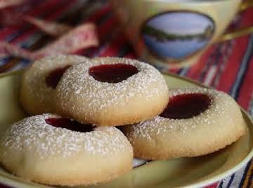 Vaniljkakor (Swedish Vanilla Cookies)