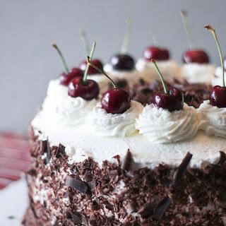 Black Forest Cake (Schwarzwälderkirschtorte)