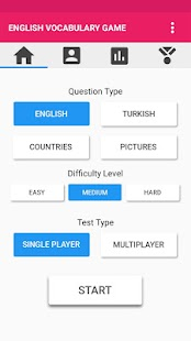 EVOG - English Vocabulary Game - náhled