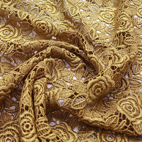 Viskosspets - guld