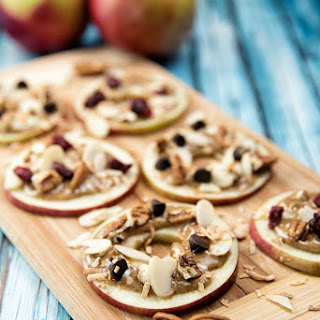 Apple and Almond Butter Bites
