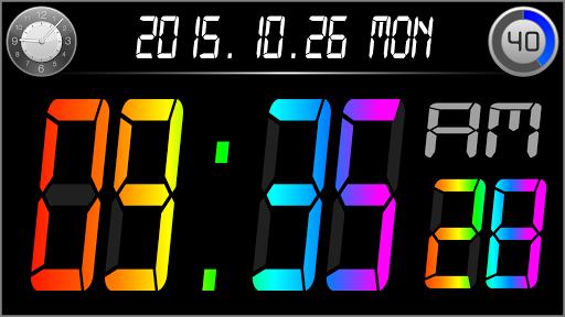 Rainbow Alarm Clock Free