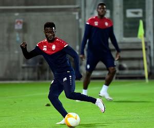 """Quand l'Antwerp est arrivé, Nana Ampomah n'a pas hésité : """"C'est l'une des meilleures équipes de Belgique"""""""