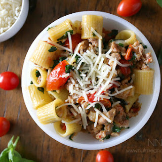 Italian Sausage and Kale Pasta.