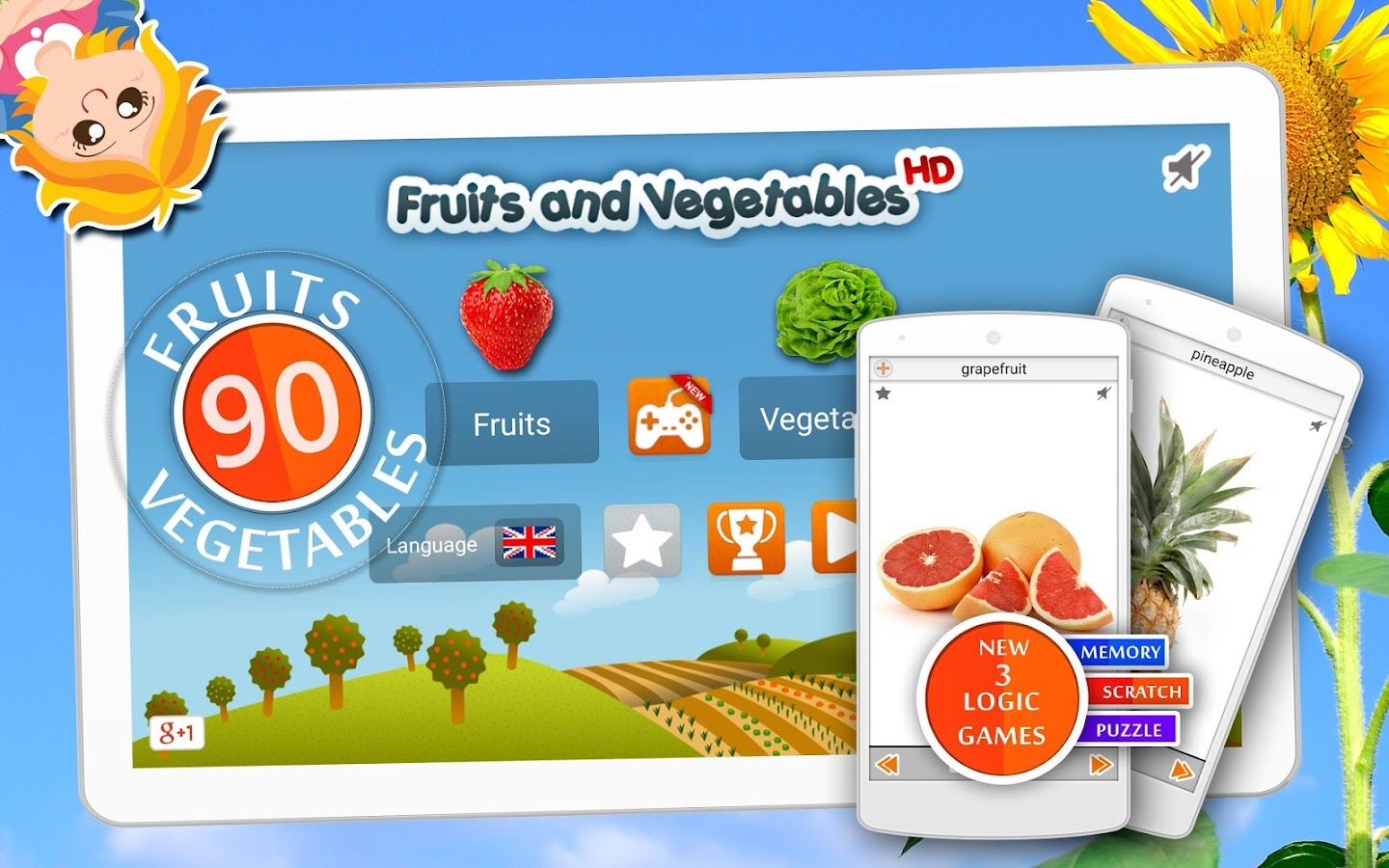 fruits and vegetables android apps on google play