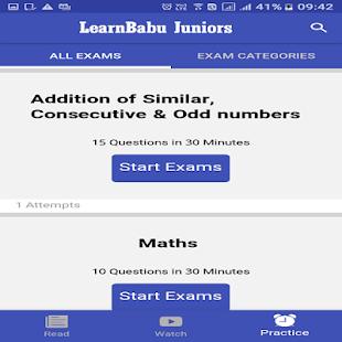 LearnBabu Juniors - náhled