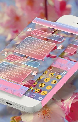Dewdrop Emoji Keyboard Theme screenshots 2