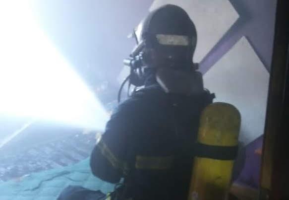 Extinguido un incendio en una vivienda de La Línea