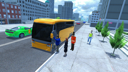 City bus driver & Off Road Bus driver  screenshots 2