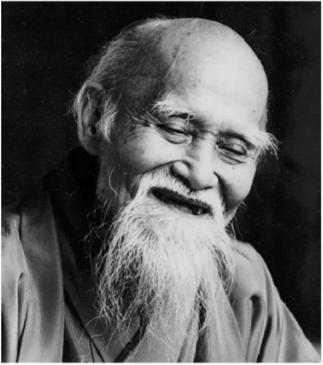 Morihei Ueshiba, criador do Aikido.