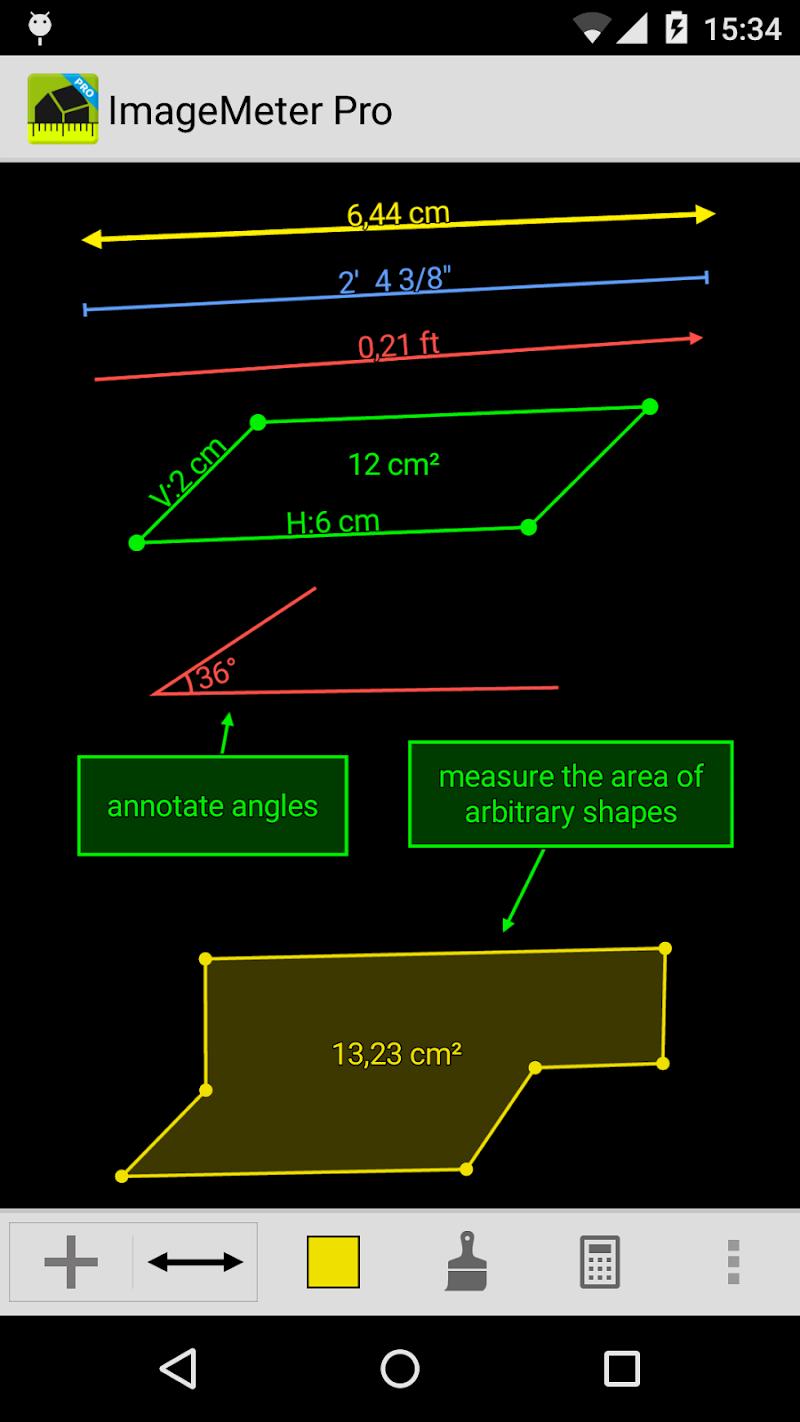 ImageMeter - photo measure Screenshot 3