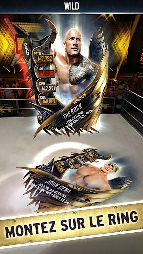 WWE SuperCard - Jeu de cartes multijoueur astuce APK MOD capture d'écran 1