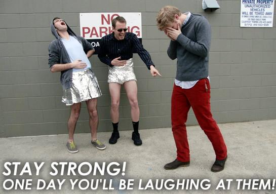 foil pants