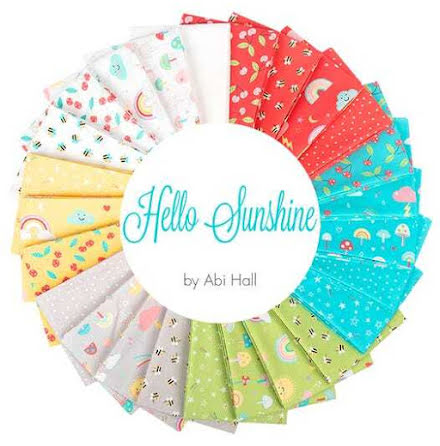 Charmpack Hello Sunshine by Abi Hall Moda (16539)