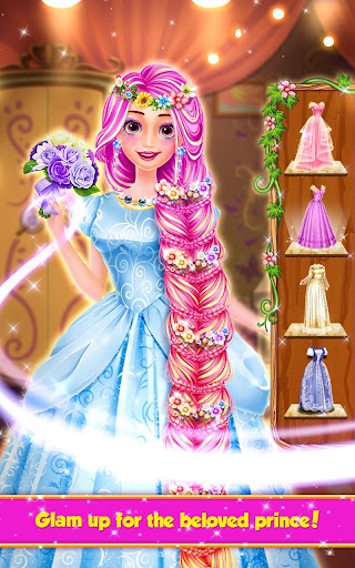 Long Hair Princess Hair Salon  screenshots 5