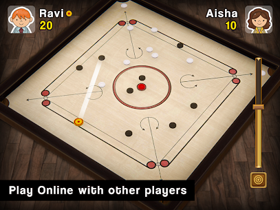 Carrom Multiplayer – 3D Carrom Board Game 7