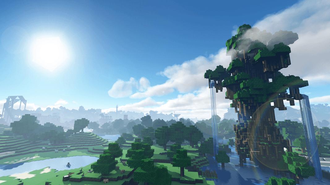Shader Texture Minecraft
