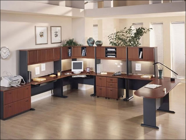 modular home office furniture wooden designs