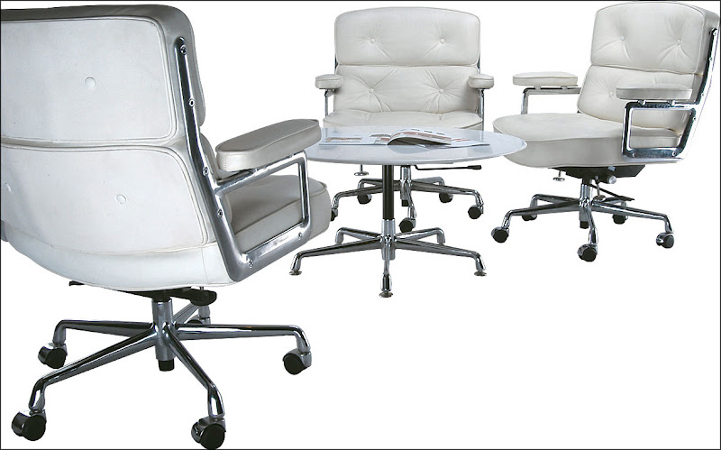 white executive office chair collection
