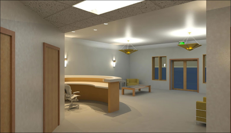modern medical office lobby furniture