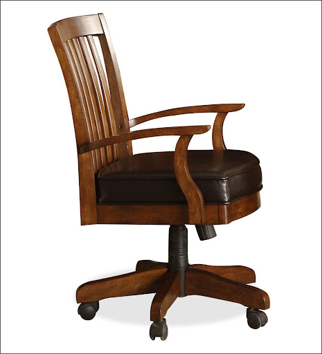wooden heavy duty desk chairs