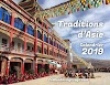 Calendrier 2019 - Traditions d'Asie.