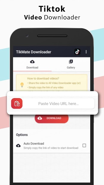 Video Downloader for Tiktok, Audio – No Watermark