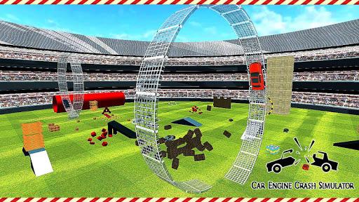 Crash Car Engine Simulator: Junkyard Speed Bumps 1.0 screenshots 1
