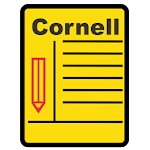 Cornell notes template Icon