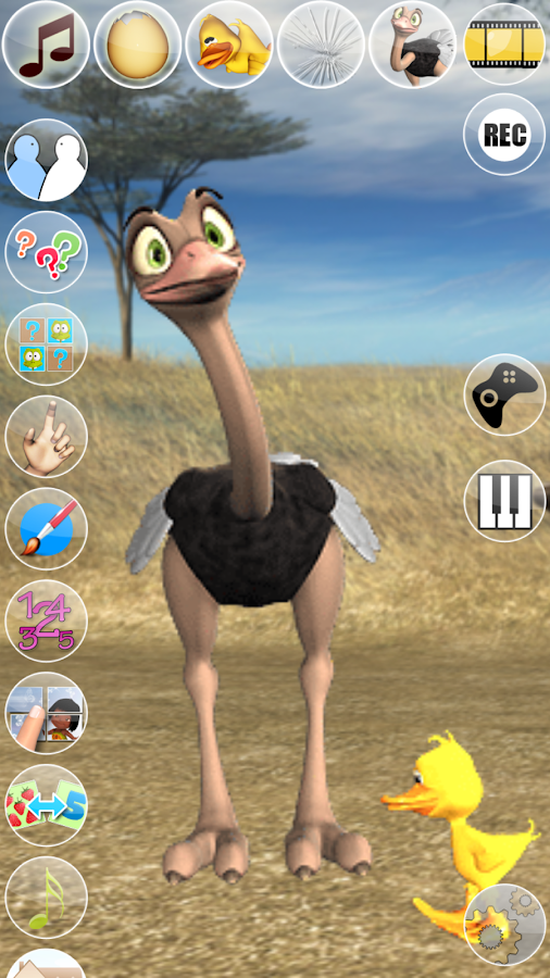 Talking Joe Ostrich- screenshot