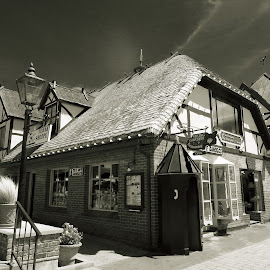 Solvang by Michael Villecco - City,  Street & Park  Street Scenes (  )