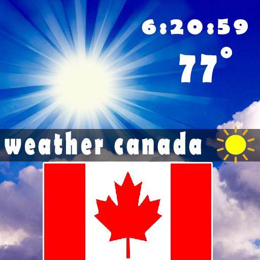 Weather for Canada 天氣 App LOGO-硬是要APP