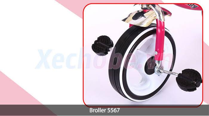 bánh xe đạp ba bánh trẻ em có đèn bánh xe